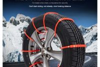 Snow Tire Chains Anti Skid Snow Chains 10 Pcs Winter Driving Car Truck Suv Wheel